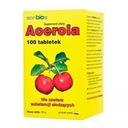 ACEROLA C 100szt LEWOSKRĘTNA WITAMINA C sanbios