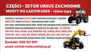 BOBCAT CLAAS JCB SATELITY ZF PÓŁOS SPICER CARRARO