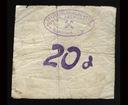 Banknot zastepczy - Boguszów-Gorce  - 20 Pf