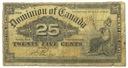 34.Canada, 25 Centów 1900, P.9.b, St.3/4+