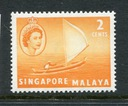 Singapore Malaya Michel nr: 29
