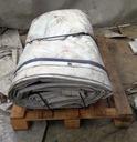 Baner plandeka 97,5m2 jednostronie biały z oczkami