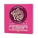Willie's Cacao - Czekolada 36% - Raspberries and