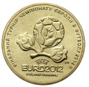 Ukraina - moneta - 1 Hrywna 2012 - Euro - 2