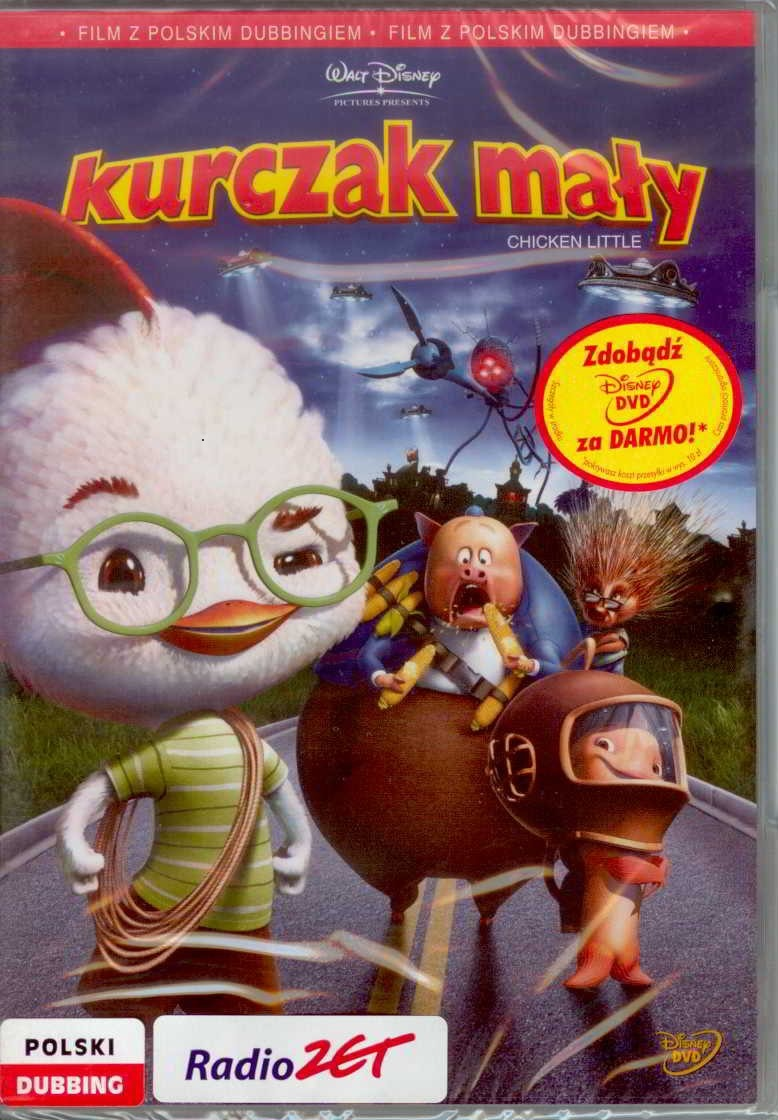 Kurczak Maly Disney Dvd 7445199049 Allegro Pl