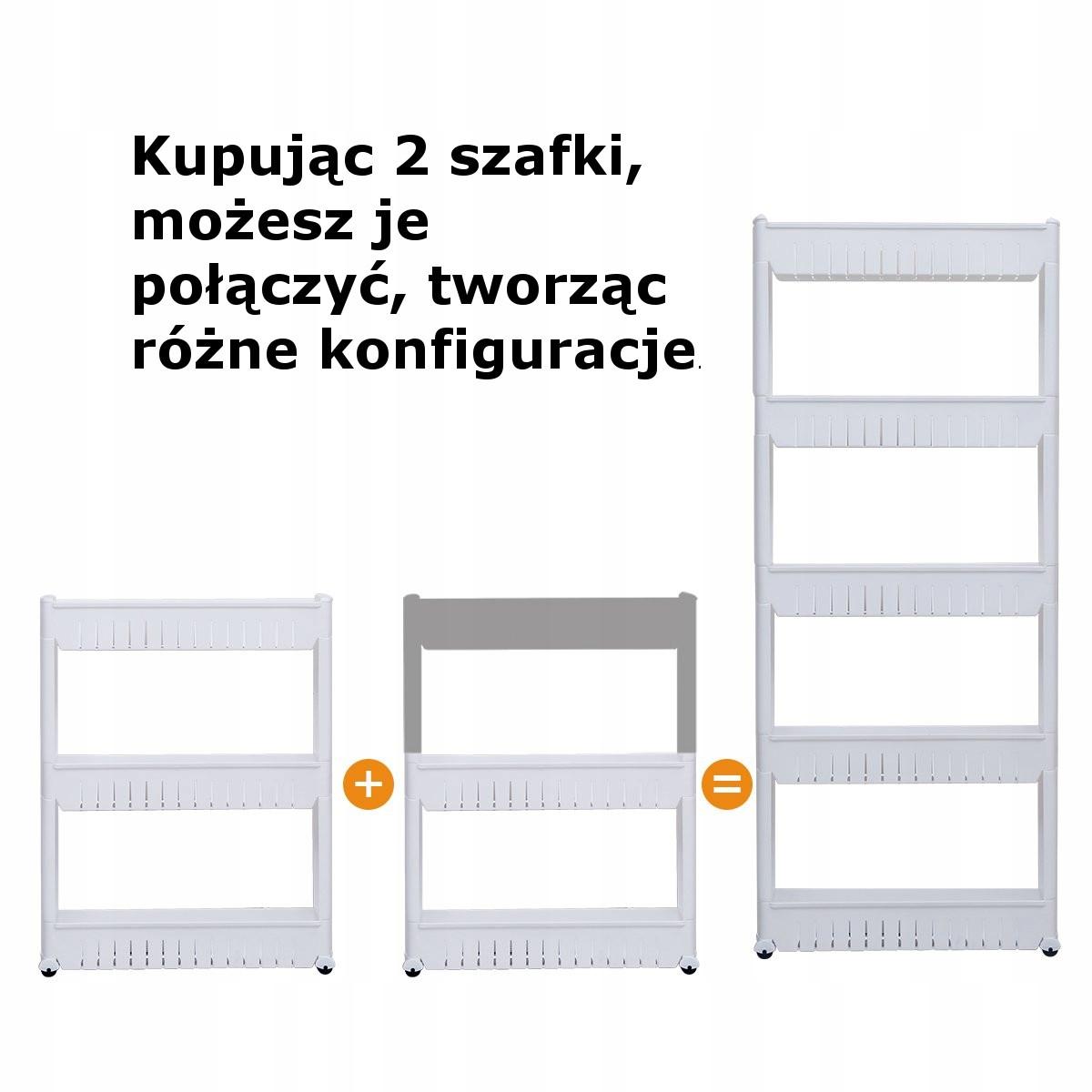 Mobilna Szafka Na Kółkach Kuchenna Półka