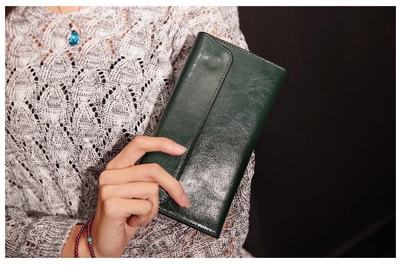 0c2974744227e Stylowy portfel damski a la kopertówka skóra 100% MODITO