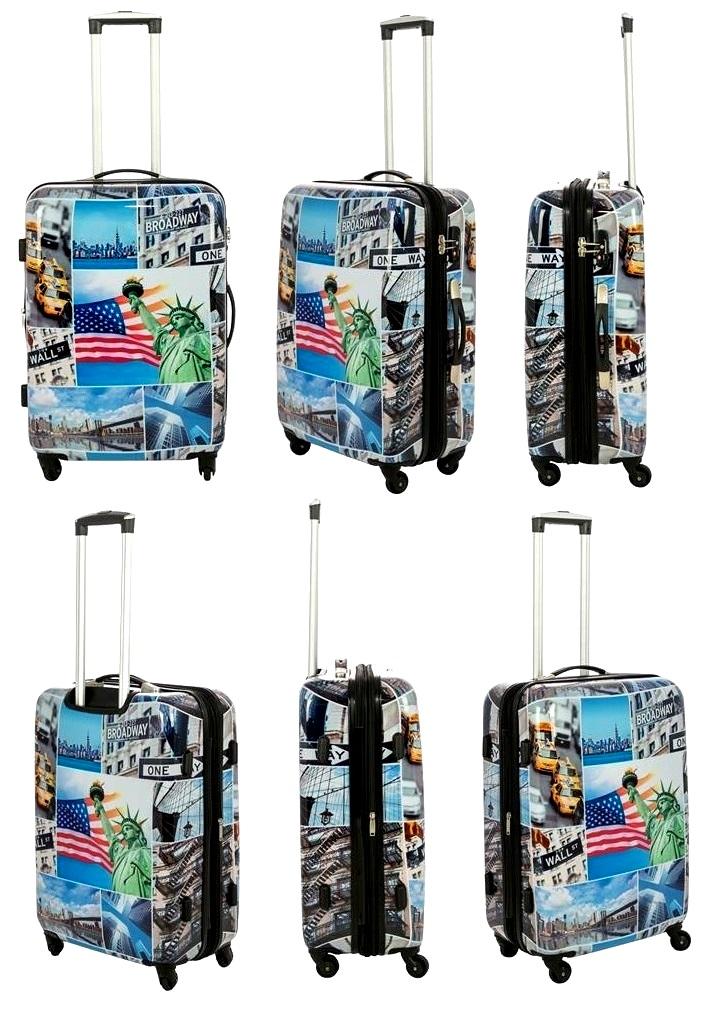 aadee99eae14e ... możliwość poszerzenia walizki o 6 cm- walizka jest błyszcząca,  zabezpieczona folia ochronną
