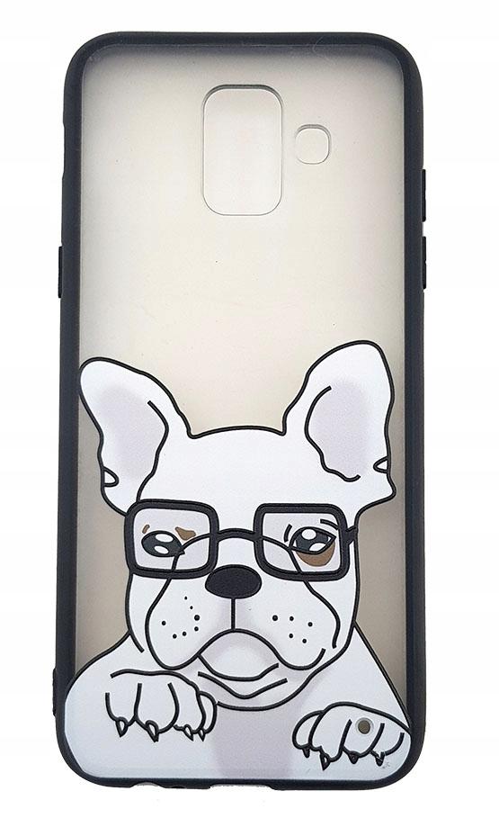 - etui plecki na Samsung Galaxy A6 2018 PIES BULDOG | Wyjątkowe etui na telefony - etui-gsm.pl