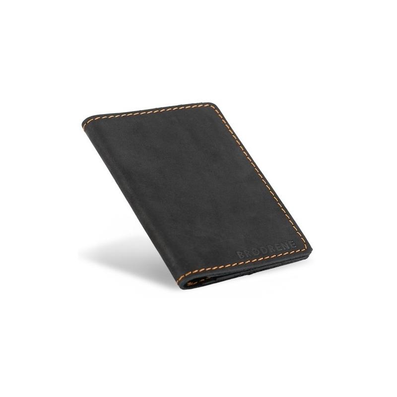 fcffa3d348015 Portfel posiada cztery kieszonki na karty kredytowe oraz dwie większe  kieszenie na banknoty oraz dowód rejestracyjny. Na przodzie portfela jest  wytłoczone ...