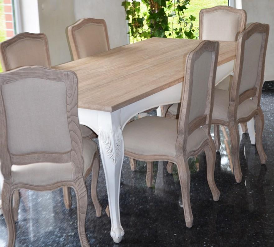 Krzesło Rzeżbione Do Salonu Fotel Beżowy Antyki24