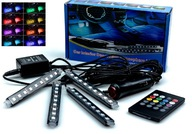 4x OŚWIETLENIE WNĘTRZA Кабины RGB 36 Светодиодные лампы + PILOT