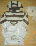 A22 Bluza, polar, czapka dla chłopca roz. 92 i 98