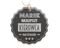 Zawieszka do samochodu akryl TWÓJ GRAWER prezent