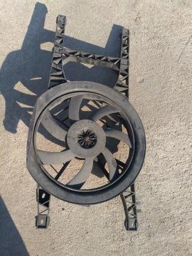 вентилятор кондиционера радиатора renault laguna и - фото