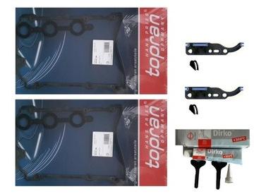прокладка крышки клапанов комплект audi 2.4 2.8 2.7 - фото