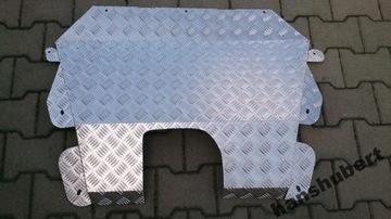 защита двигателя алюминий peugeot expert 07-16 - фото