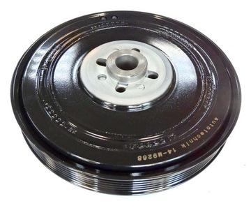 колесо шкив валу vw t4, lt, 2.5tdi,2.4d 074105251 - фото