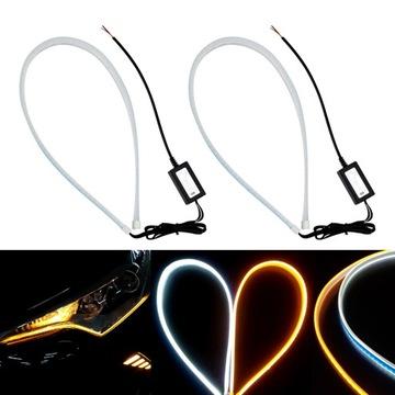 свет drl светодиод led бегущие указатель поворота динамический - фото