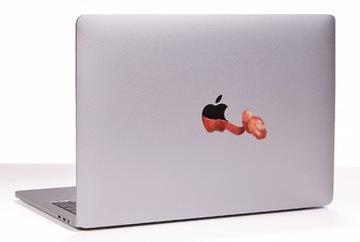 Наклейка на Macbook Apple MacBook Mac Огрызок доставка товаров из Польши и Allegro на русском