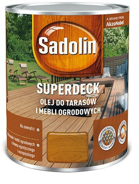 SADOLIN Superdeck 5л Масло для дерева и террас доставка товаров из Польши и Allegro на русском