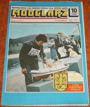 МОДЕЛЬЕРЫ, Ежемесячный 10/1988 доставка товаров из Польши и Allegro на русском