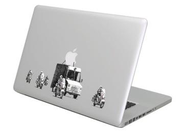 Наклейка на Macbook Apple - Бэнкси Donut Кортеже доставка товаров из Польши и Allegro на русском