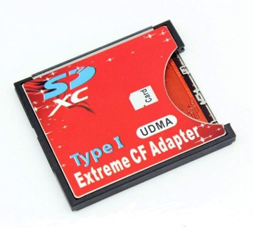 SD SDXC to CF Type I Compact Flash адаптер карты  доставка товаров из Польши и Allegro на русском