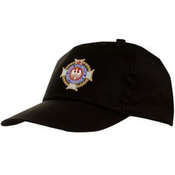 Шапка пожарная с вышивкой ZOSP, логотип профсоюзные ОПС доставка товаров из Польши и Allegro на русском