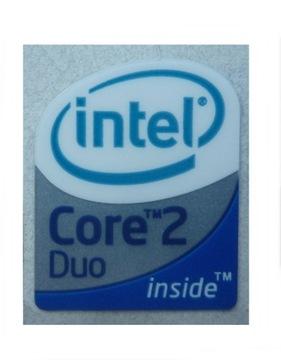 033 Naklejka Intel Core 2 Duo 19x24mm доставка товаров из Польши и Allegro на русском