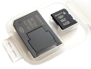 Карта 4GB MS micro M2 Memory Stick PRO DUO SONY доставка товаров из Польши и Allegro на русском