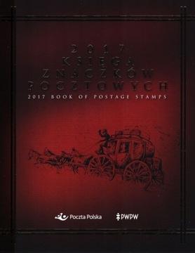 Книга почтовых марок - 2017 Год доставка товаров из Польши и Allegro на русском