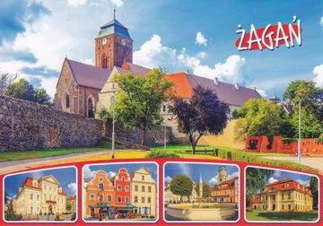 ŻAGAŃ - PL. MACZKA - KOŚCIÓŁ - RYNEK - PAŁACYK доставка товаров из Польши и Allegro на русском