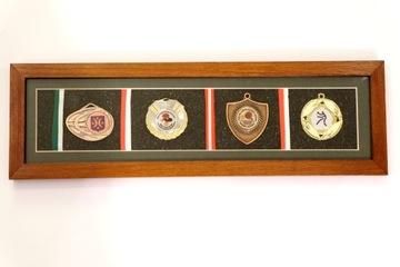 Рамка для медалей и украшений РАМКА СДЕЛАНО В ПОЛЬШЕ  доставка товаров из Польши и Allegro на русском