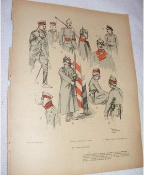 ___ umundurowanie wojskowe Niemcy 1914-1916 F04380 доставка товаров из Польши и Allegro на русском