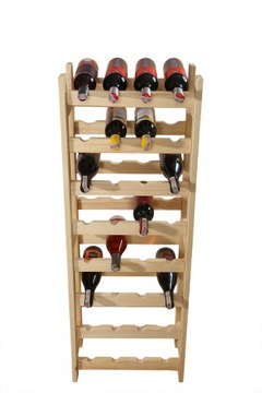 Книжный шкаф, стенд на вино 32 бутылки (4x8), производитель доставка товаров из Польши и Allegro на русском