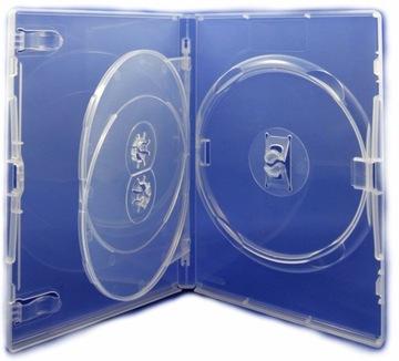 Коробки Amaray на 3xDVD Clear 14мм 50шт качество! доставка товаров из Польши и Allegro на русском