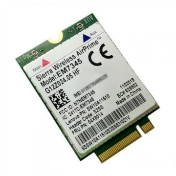 Модем EM7345 4G LTE Lenovo X240 T440 W540 Carbon доставка товаров из Польши и Allegro на русском