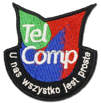 Нашивки вышитые в любой дизайн ЛОГОТИПА 10шт ЛИПУЧКЕ доставка товаров из Польши и Allegro на русском