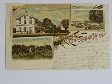 Niechorze Horst hotel czarny wieloryb 1899 lit sec доставка товаров из Польши и Allegro на русском