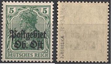 ОН Postgebiet 1916 Ob Ost Fi 19d ** Berbeka доставка товаров из Польши и Allegro на русском