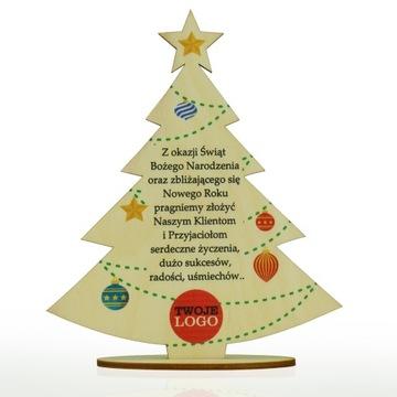 Подарок рождественский подарок с логотипом компании елка 1 доставка товаров из Польши и Allegro на русском