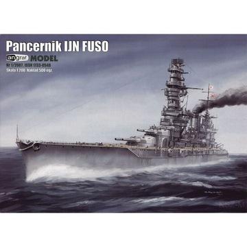 Angraf 1/07 - Японский линкор FUSO 1:200 доставка товаров из Польши и Allegro на русском