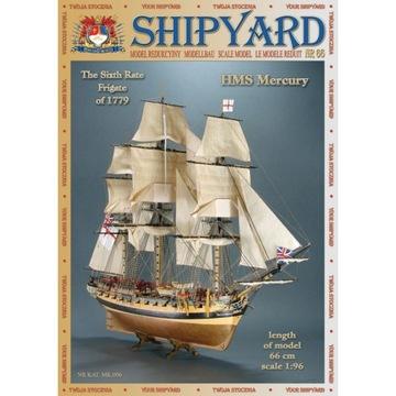 SHIPYARD 66 - Фрегат HMS Mercury 1:96 доставка товаров из Польши и Allegro на русском