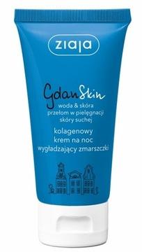 Ziaja GdanSkin коллагеновый крем ночной разглаживающий доставка товаров из Польши и Allegro на русском