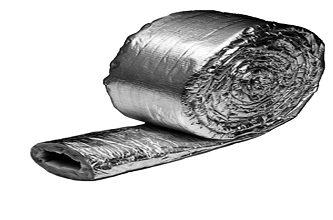IZOLAČNÝ KRYT objímková rúrka 125mm / 10m ATEST