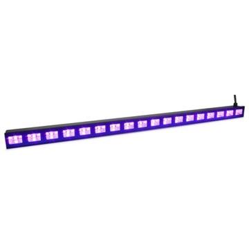Lúč s UV efektom BEAMZ BuV183 91 cm LED 18x3 W