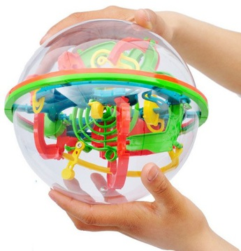 3D LABYRINTH CLEANER SPHERE XL Šikovná hra
