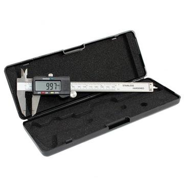 Elektronický CALIPER DIGITAL LCD 150MM CASE