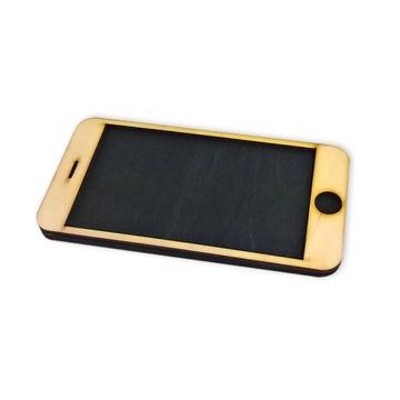 Smartfón Deku - farba na tabuľu - 15 x 7,3 cm Skle